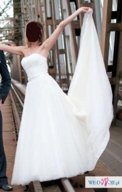 Piękna Suknia Ślubna dla Księżniczki :)