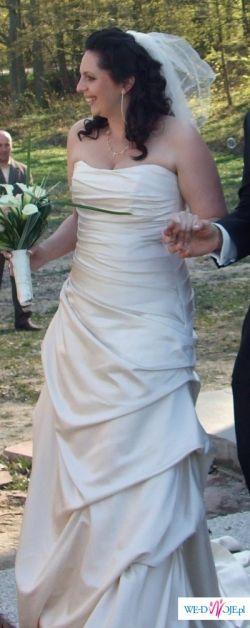 Piekna Suknia Ślubna DUZY ROZMIAR
