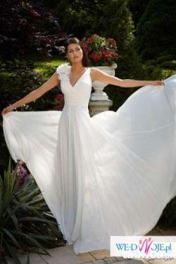 Piękna suknia ślubna ELIXIR