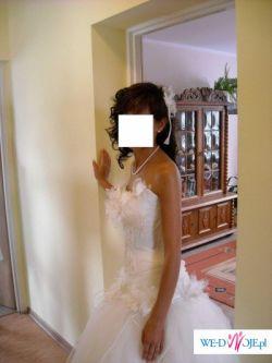 Piękna suknia ślubna ELVI