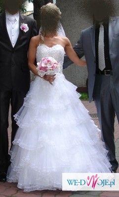 Piekna suknia slubna Emmi Mariage Edith 2010 roz.34
