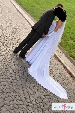 Piękna Suknia Ślubna Empire, Grecka , Greczynka+gratisy okazja