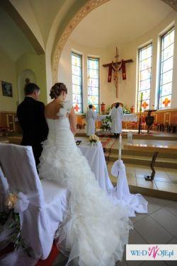 Piękna suknia ślubna FAMOSA