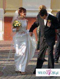 """Piękna Suknia ślubna """"Farage"""""""