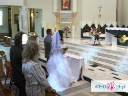 Piękna suknia ślubna firmy CYMBELINE