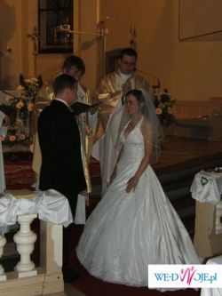 Piękna suknia ślubna firmy DEMETRIOS model 925