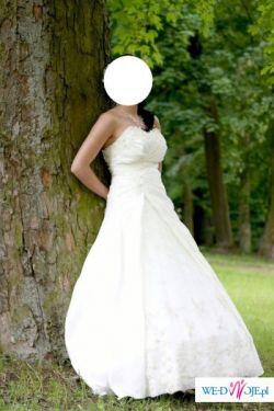 Piękna suknia ślubna firmy MS Moda