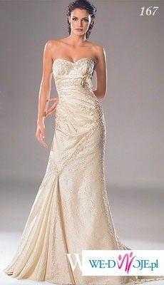 piękna suknia ślubna firmy white one
