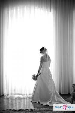 Piękna suknia ślubna FLOSSMANN!!!