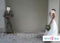 Piękna suknia ślubna GALAKSY ecru