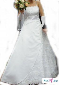 Piękna Suknia Ślubna + GRATIS !!!