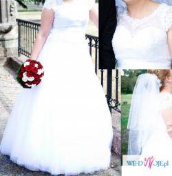 Piękna suknia ślubna !! GRATIS welon !