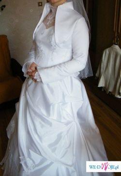 Piękna suknia ślubna + GRATISSY