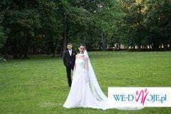 Piękna suknia ślubna idealna na letnią uroczystość!!!