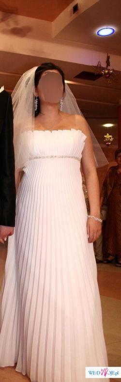 piękna suknia ślubna Impresja model 2009