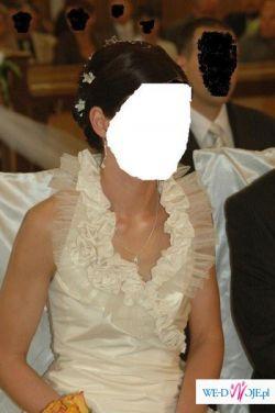 Piekna suknia ślubna jak LINEA RAFAELLI!!!