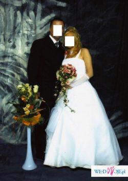 Piękna Suknia Ślubna!!!Jak nowa