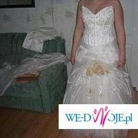PIĘKNA suknia ślubna jana ecru