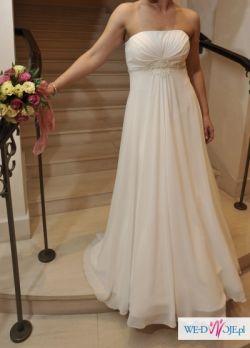 Piękna suknia ślubna - Julia Rosa 127