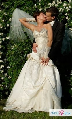 Piękna suknia ślubna Kalisz