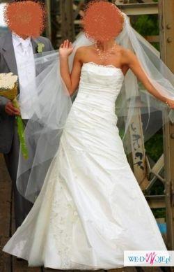 Piękna SUKNIA ślubna Kolekcji GALA + GRATISY