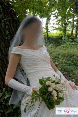 Piękna suknia ślubna Kraków