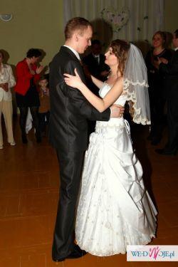 Piękna suknia ślubna księżniczka! rozmiar 36-38 + DODATKI!