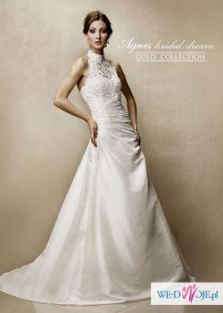 Piekna suknia slubna ktora trzeba zobaczyc na zywo:)