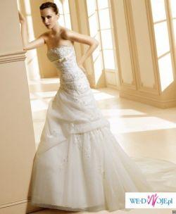 "Piękna suknia ślubna La Sposa "" Mecenas"" 36/38"