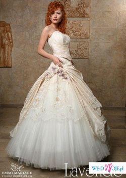 Piękna Suknia ślubna Lavende Emmi Mariage rozm 40/42