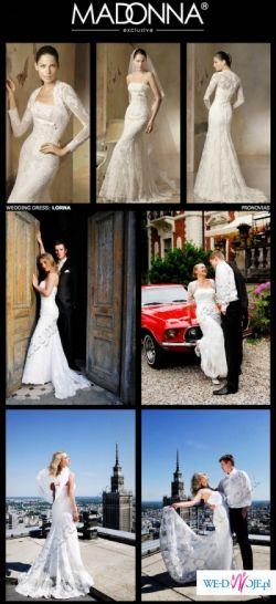 piękna suknia ślubna LORNA  Pronovias