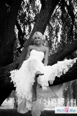 Piękna Suknia Ślubna MADONNA San Patrik