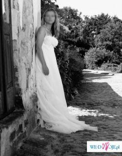 Piękna suknia ślubna Manuel Mota
