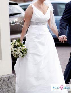 Piękna suknia ślubna Marylise Jasmine 2 !! stan BDB