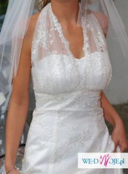 Piękna suknia ślubna model 2010 MADAME ZARĘBA