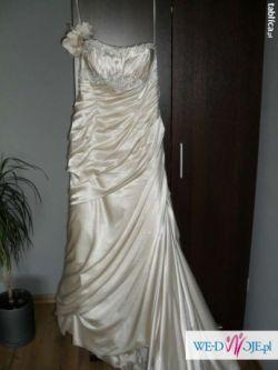 Piękna suknia ślubna Mori Lee 1605
