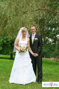 Piękna suknia ślubna. Musisz ją mieć!