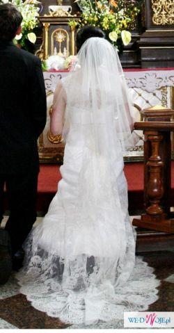 14a236c908 PIĘKNA SUKNIA ŚLUBNA NABLA BELISMA rozm. 36-38 - Suknie ślubne ...
