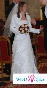 Piękna suknia ślubna!! okazja!!