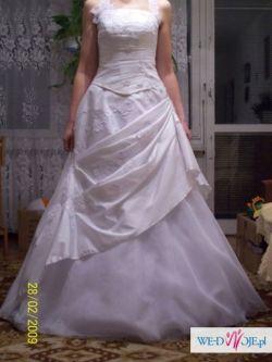 Piękna suknia ślubna OKAZJA!
