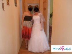 Piękna suknia ślubna Pollina