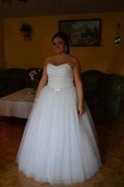 Piękna Suknia Ślubna Princessa firmy DUBER model 1432