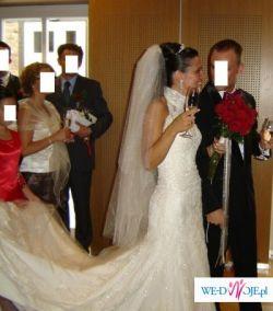 Piękna suknia ślubna PRONOVIAS Laris