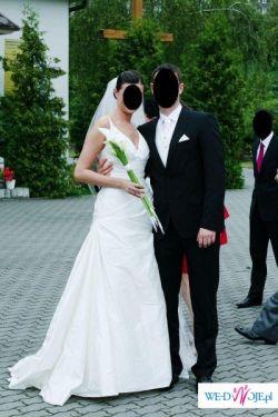 Piękna suknia ślubna Pronovias model Diamante
