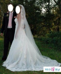 Piękna suknia ślubna Pronovias Nalon