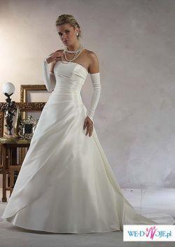 piękna suknia ślubna r.38-42
