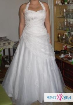 Piękna suknia ślubna! r.42-38