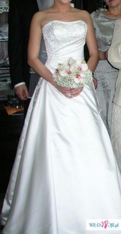 Piękna Suknia ślubna Rosemary-POLECAM!!!
