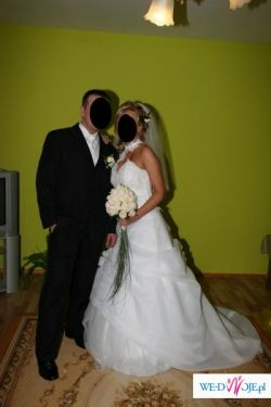 Piękna suknia ślubna!!!!roz.38-40