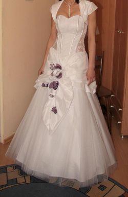 Piękna suknia ślubna (rozm. 36-38, wzrost 167)